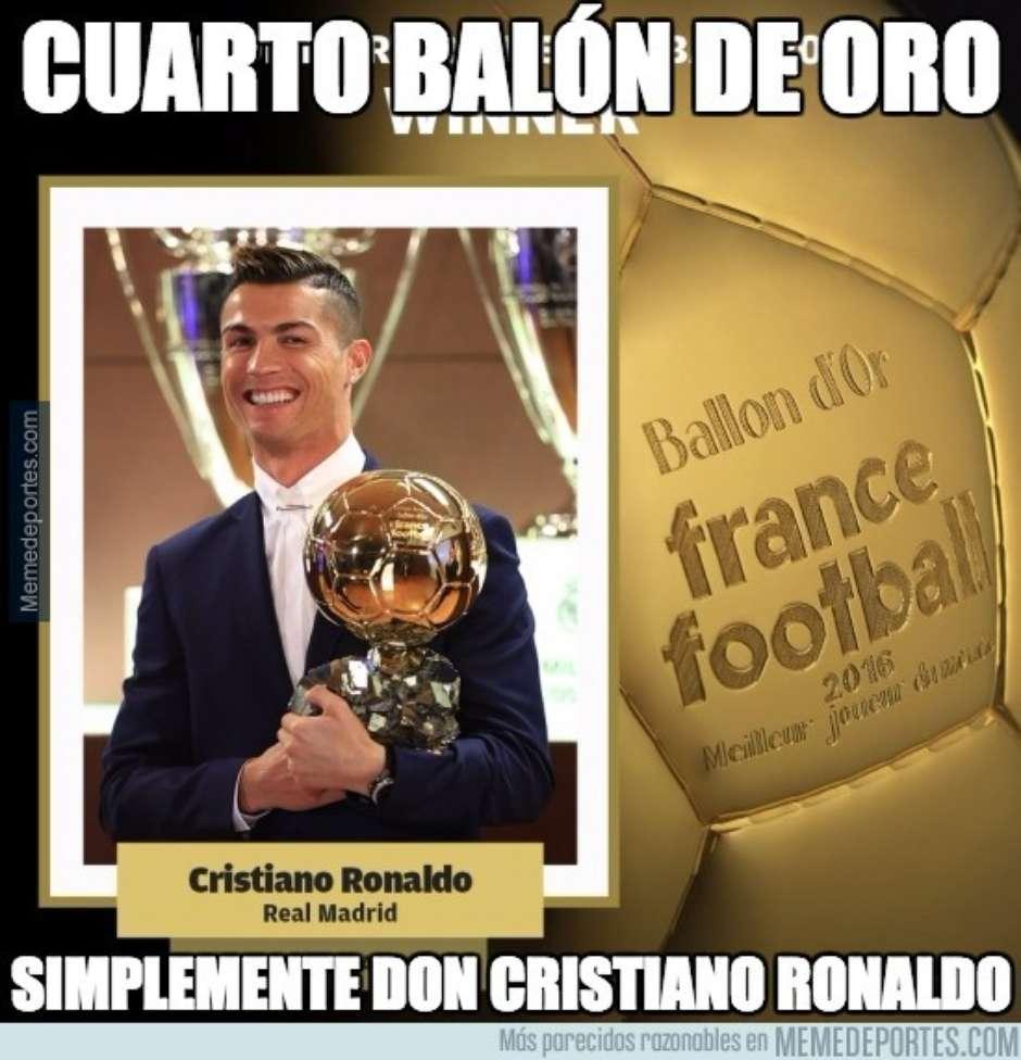 Otros dieron mérito a Cristiano Ronaldo. (Foto: Twitter)