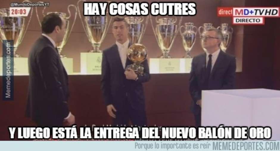 Sobre todo los Culés arremetieron contra Cristiano. (Foto: Twitter)