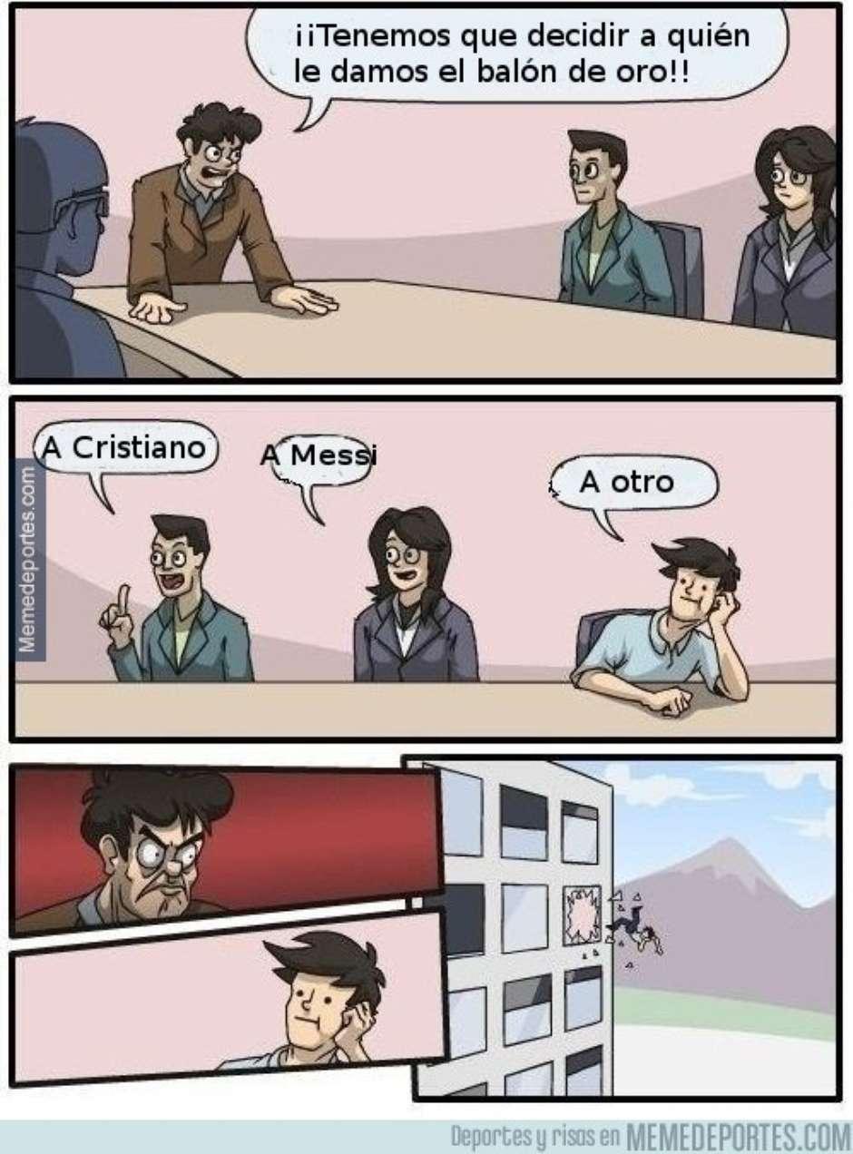 Los memes creativos tras el cuarto Balón de oro de Cristiano Ronaldo. (Foto: Twitter)
