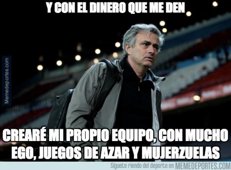 """Los """"memes"""" de Mourinho se viralizan rápidamente en la web. (Imagen: sopitas.com)"""