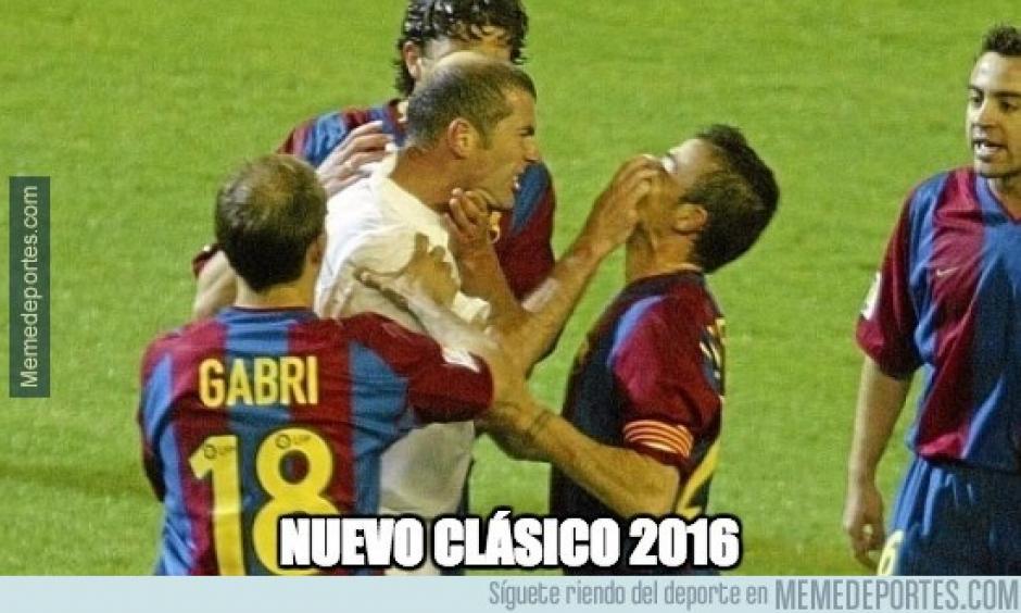 """Los """"memes"""" no dejaron pasar a Zinedine Zidane, quien será el sustituto de Benítez. (Foto: memedeportes.com)"""