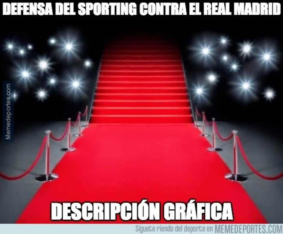 La defensa del Sporting fue basante criticada. (Imagen: memedeportes.com)