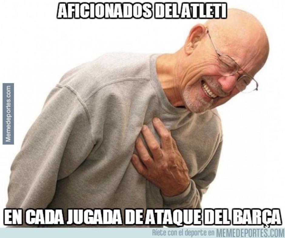 La segunda parte fue de infarto para los aficionados colchoneros. (Imagen: memedeportes.com)