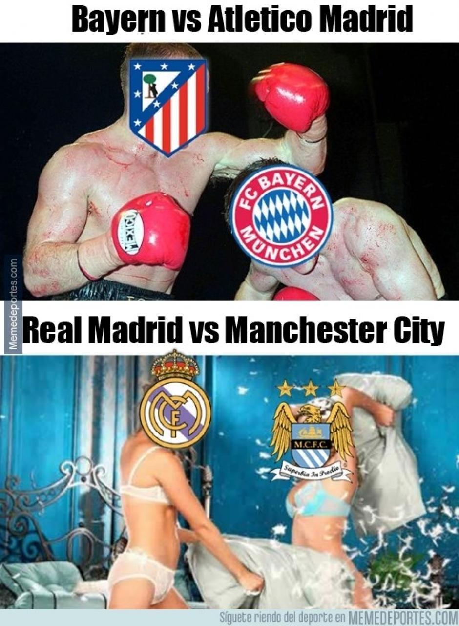 Muchos quedaron decepcionados por el rendimiento del Real Madrid y el Manchester City. (Imagen: memedeportes.com)