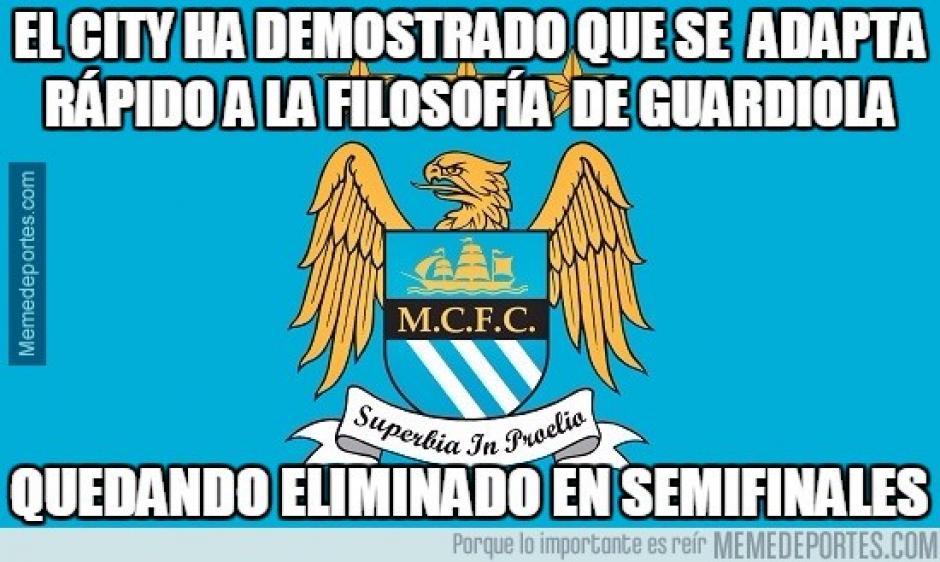 Muchos se burlaron de la inminente llegada de Guardiola al City. (Imagen: memedeportes.com)
