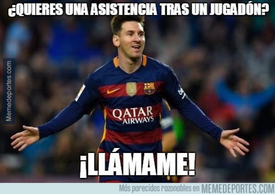 Messi pasó desapercibido en la final de la Copa del Rey.