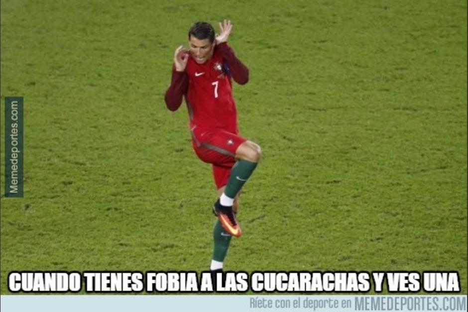 Cristiano Ronaldo falló un penal que habría significado la victoria de su equipo. (Imagen: memedeportes.com)