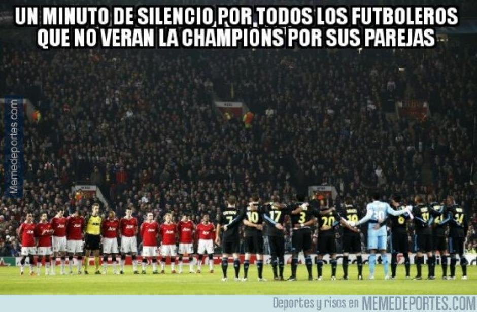 Muchos futboleros no pudieron ver el juego debido a sus citas por el día del cariño. (Imagen: memedeportes.com)