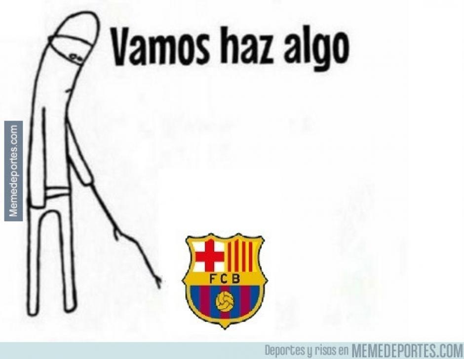 El Barcelona no supo responder para por lo menos descontar en el marcador. (Imagen: memedeportes.com)