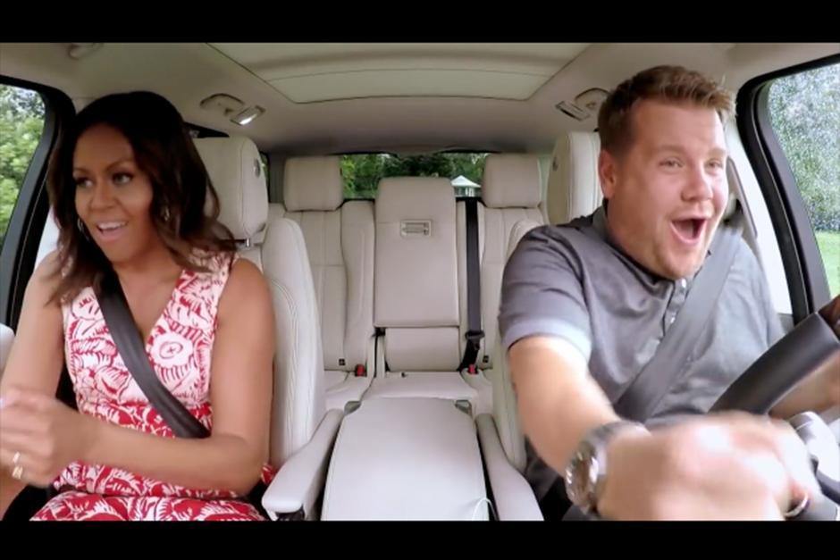 James dio un recorrido en la casa blanca junto a la primera dama. (Foto: YouTube)
