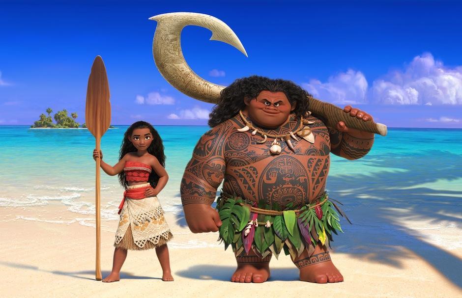 """Polinesios afirman que el porte """"obeso"""" del semi dios Maui es un estereotipo. (Foto: Disney)"""