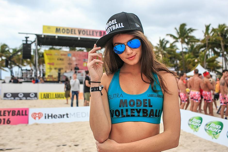 Las más bellas modelos estuvieron en el Model Beach Volleyball 2016. (Foto: George Martinez/Miami New Times)