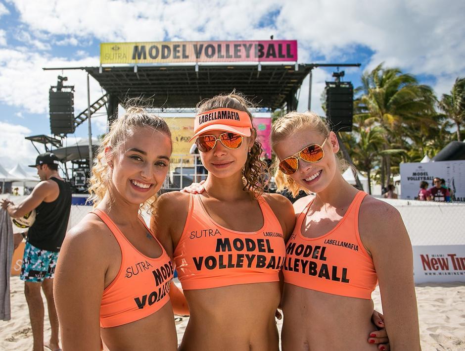 Ellas dijeron presente en el Model Beach Volleyball 2016. (Foto: Model Beach Volleyball)