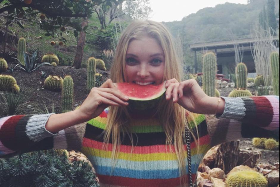 Elsa Hosk le revela al mundo hábitos alimenticios y deportivos. (Foto: Instagram)