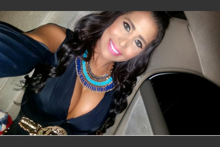 Ella es una modelo venezolana, que participa en un programa dominicano. (Foto: Twitter @la_chama1)