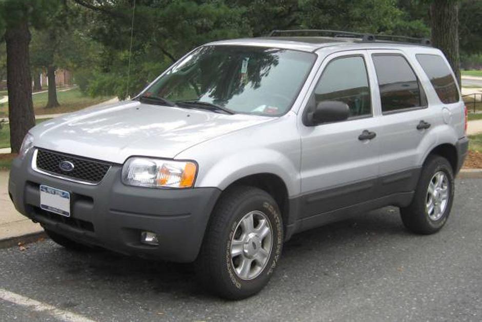 Varios de los modelos Ford Scape 2001 al 2004 serán revisados.