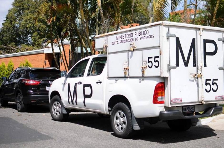 El MP confirmó los allanamientos en casa de Otto Pérez Molina. (Foto: Alejandro Balan/Soy502)