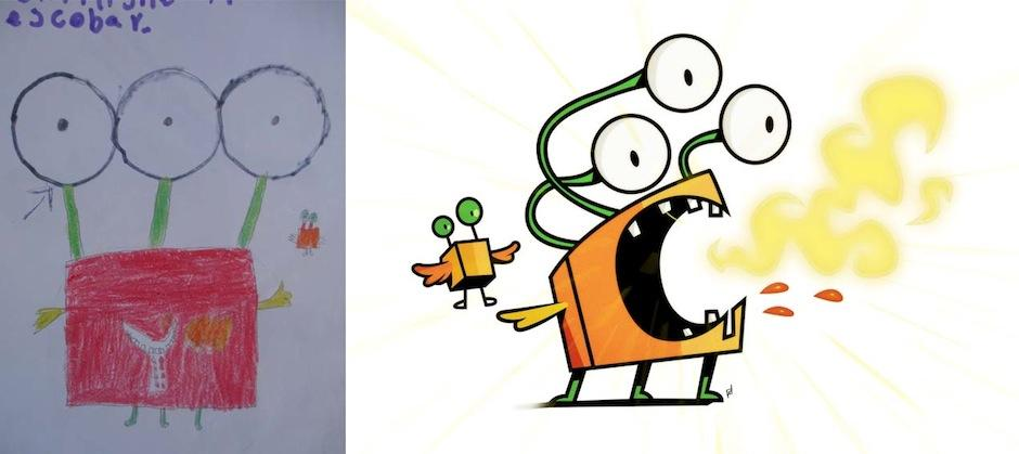 El artista repetirá la actividad en Colombia. (Foto: Monsters by kids)