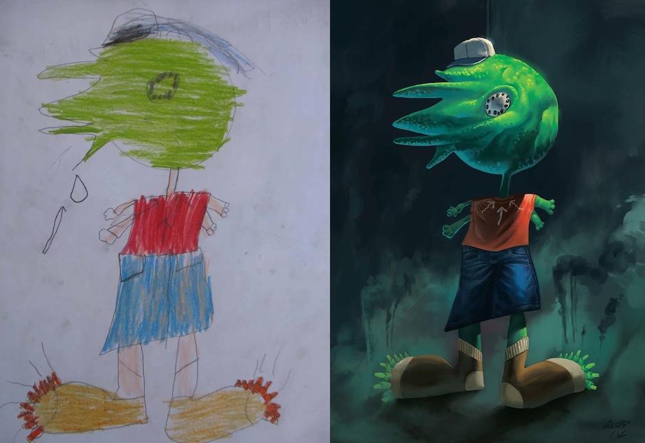 "Se trata de ""Monsters by kids"", una iniciativa artística. (Foto: Monsters by Kids)"
