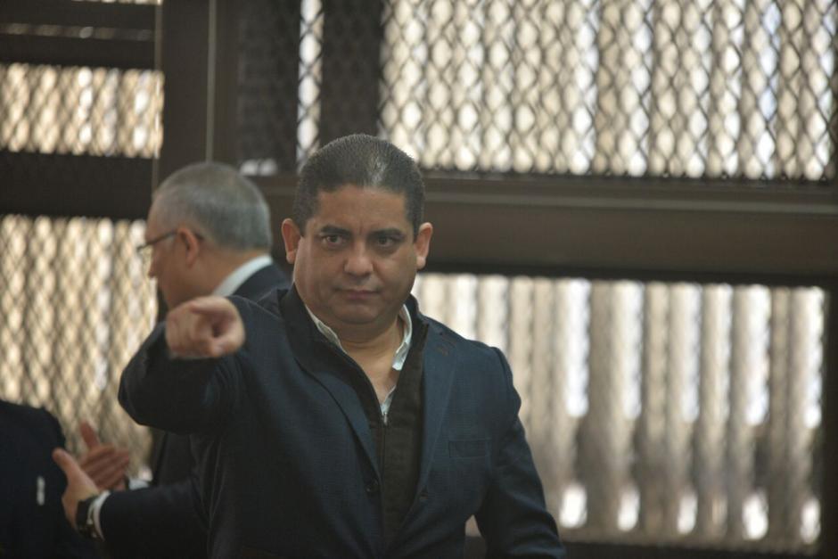 Juan Carlos Monzón acudió a una citación a la Torre de Tribunales. (Foto: Wilder López/Soy502)