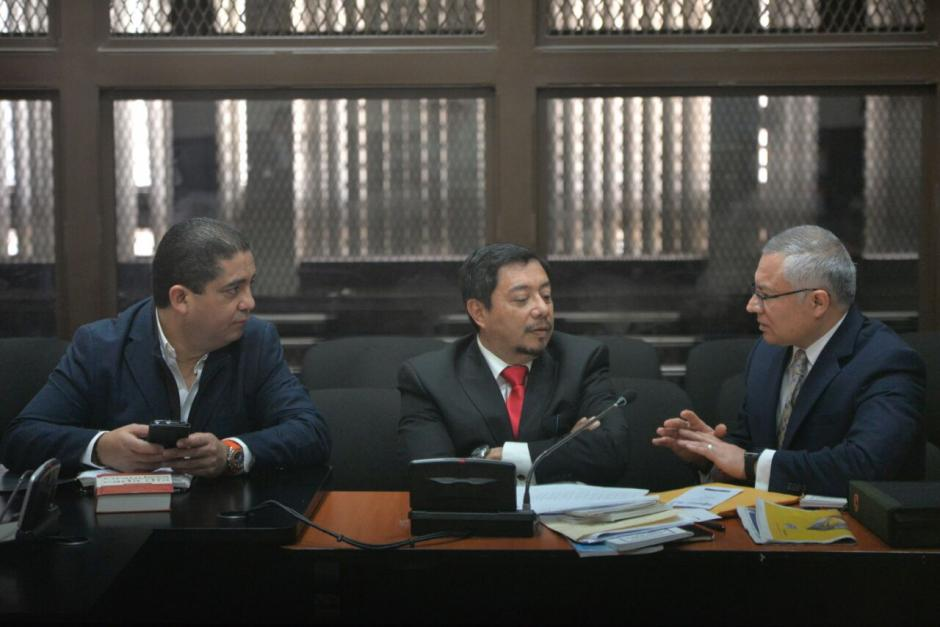 """En la diligencia estuvo Salvador Estuardo González """"Eco"""", quien fue el primer condenado por el caso La Línea. (Foto: Wilder López/Soy502)"""