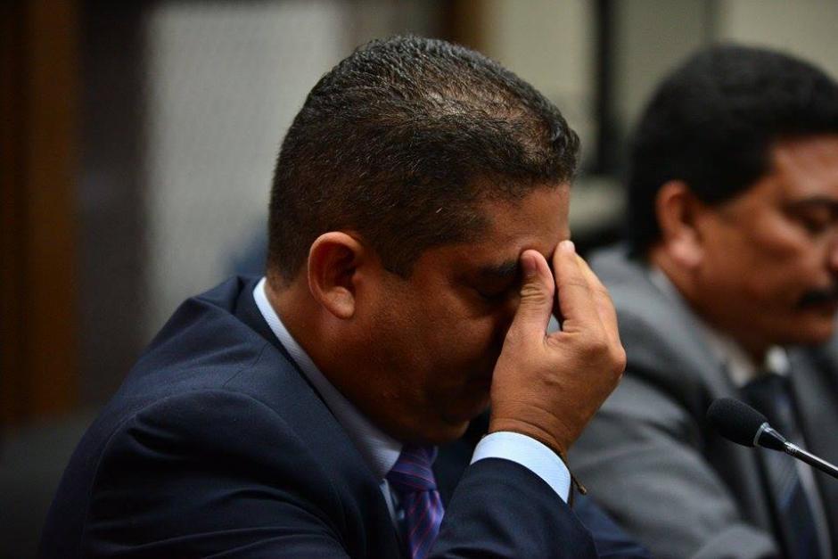 Por momentos, Juan Carlos Monzón se mostró preocupado por su situación. (Foto: Wilder López/Soy502).