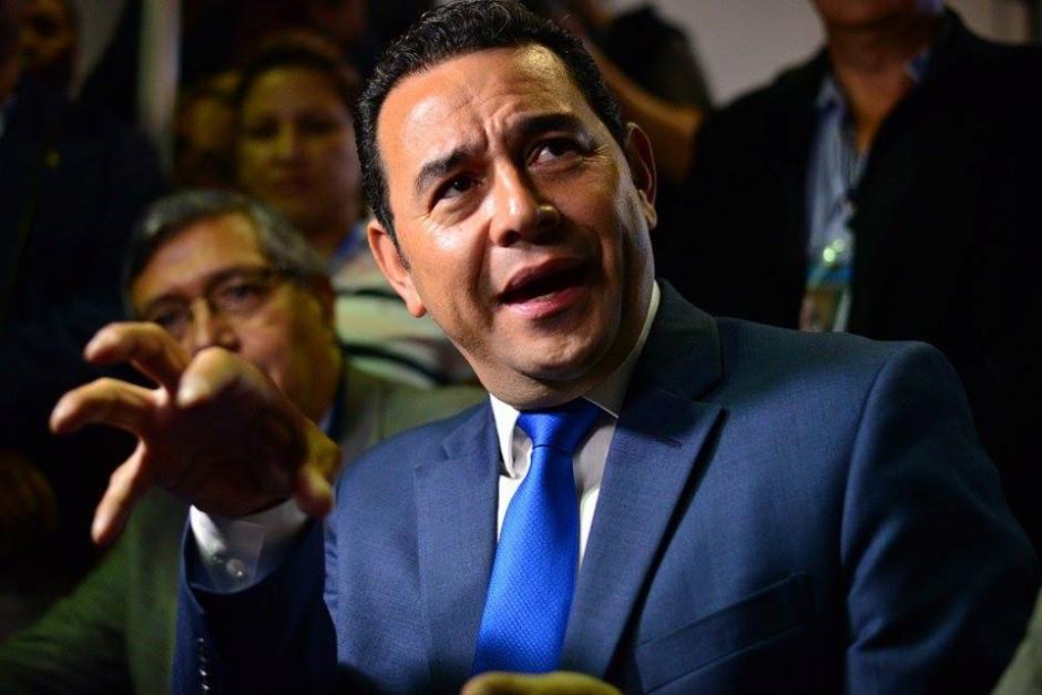 Jimmy Morales el candidato desconocido que logró colarse a la segunda vuelta de las Elecciones Generales. (Foto: Wilder López/Soy502)