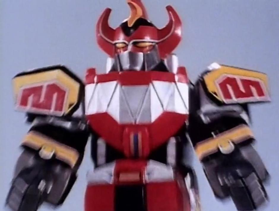 """Quienes fueron niños en los noventa recordarán con nostalgia al """"Dino Megazord"""" de la primera generación de los Power Rangers"""