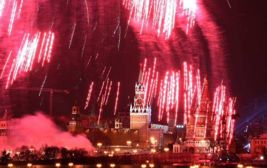 Moscú, la capital de Rusia, recibió al 2016. (Foto: AFP)