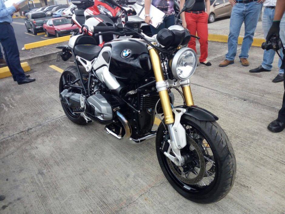 Motocicletas de lujo fueron inmovilizadas. (Foto: Ministerio Público)