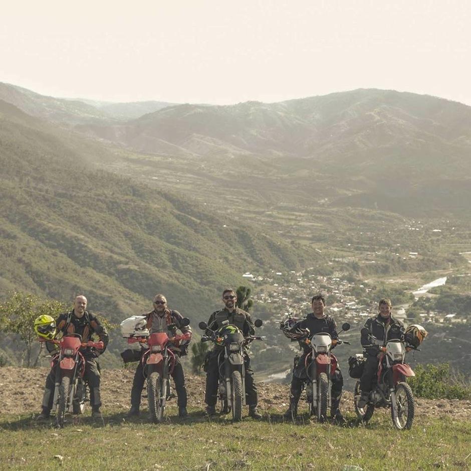 Los interesados hacen recorridos en moto. (Foto: Motorcycle Adventure Tours in Guatemala)