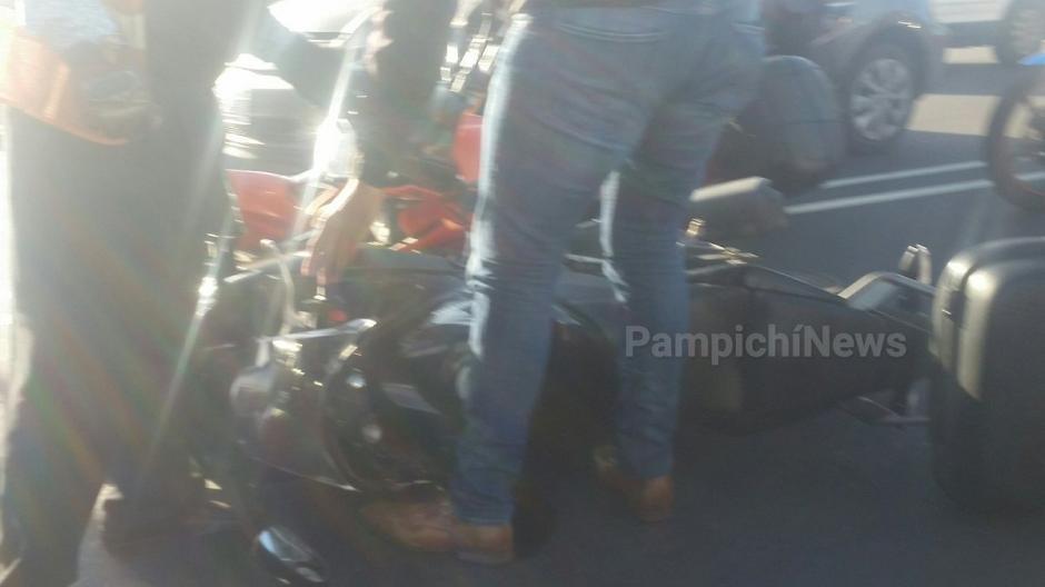 El incidente ocurrió en el kilómetro 15.5 de la ruta al Pacífico.  (Foto: @PampichiNews)