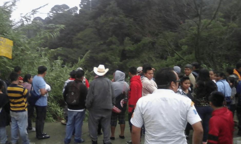 El percance se registró en el Km. 17 de la ruta interamericana. (Foto: Bomberos Voluntarios)