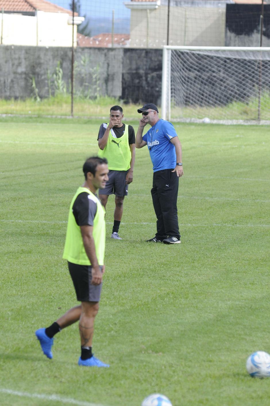 """Sopegno habló en la semana y afirmó que """"no hay problemas"""". (Foto: Orlando Chile/Nuestro Diario)"""