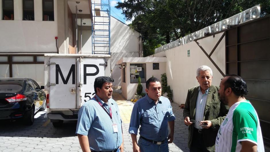 En el inmueble funciona el Tribunal de Honor del CANG. (Foto: José Miguel Castañeda/Soy502)