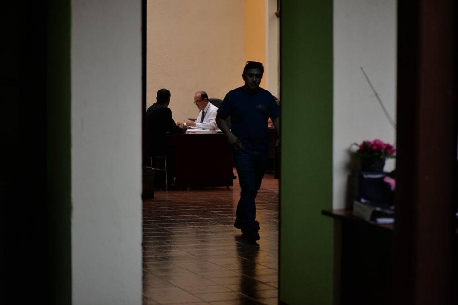 El personal del Ministerio Público visitó nuevamente el Congreso. (Foto: Wilder López/Soy502)