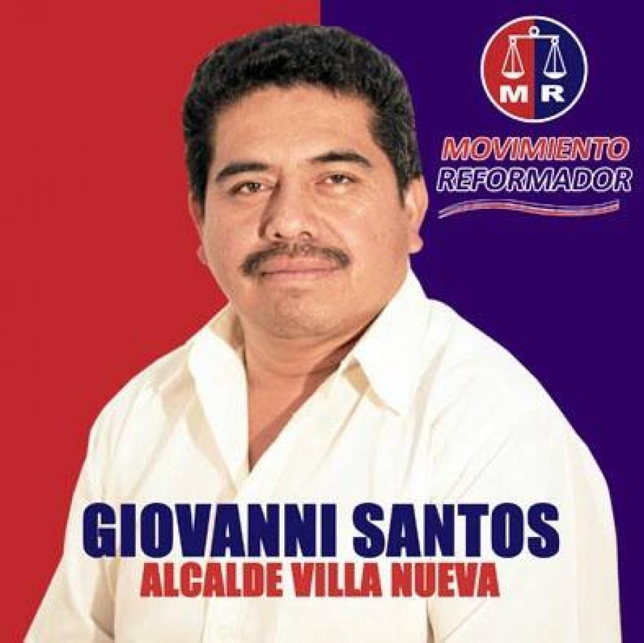 Héctor Giovanni Santos es la carta que el Movimiento Reformador tiene para cambiar los rumbos del municipio de Villa Nueva. (Foto: Héctor Giovanni Santos)
