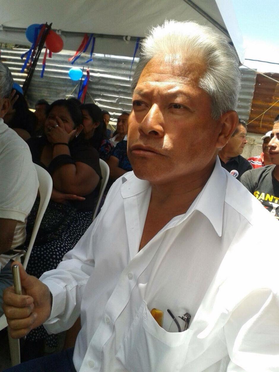 Luis Adolfo Flores Díaz del Movimiento Reformador.
