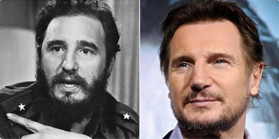 Fidel Castro en su juventud guardaba cierta similitud al actor británico. (Foto: @MrBxnny__/Twitter)