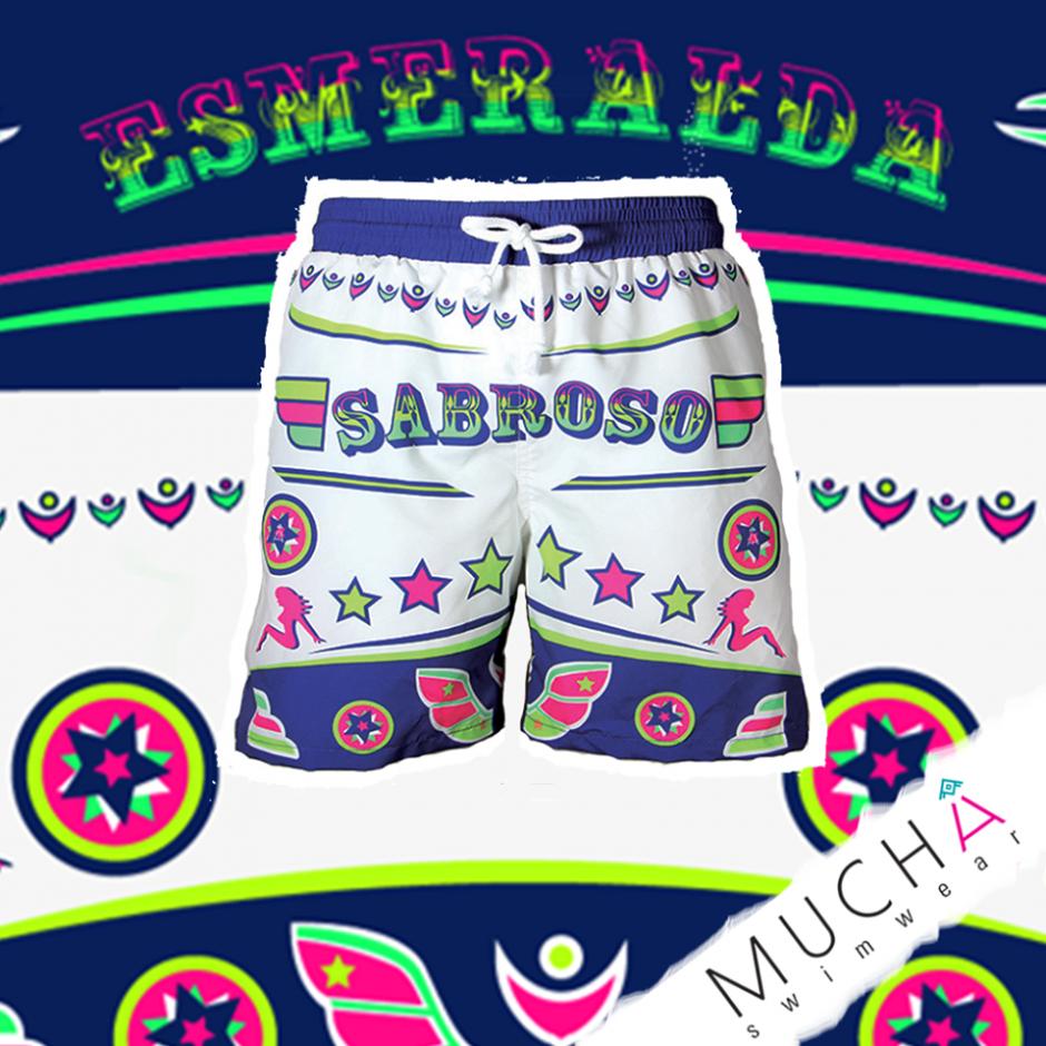 Son pantalonetas inspiradas en Guatemala. (Foto: Muchá Swimwear)