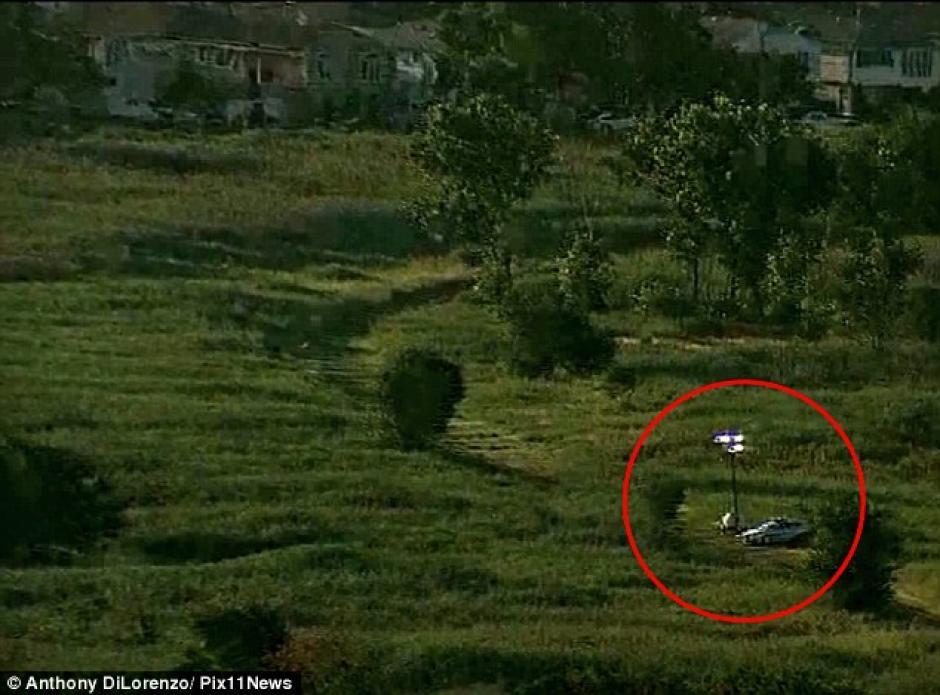 Esta fue el área donde localizaron el cadáver. (Foto: Daily Mail)