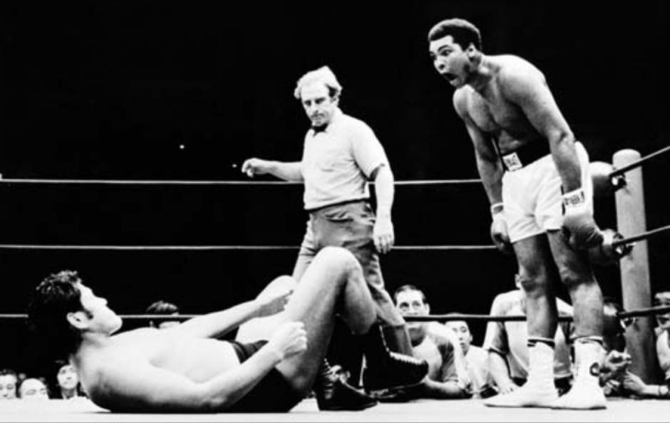 Una de tantas peleas memorables de Muhammad Ali. (Fot: ESPN)