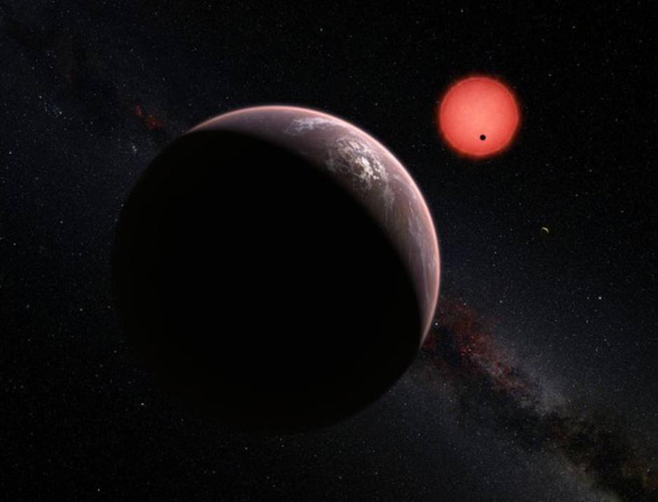 Los tres mundos extrasolares, que según los científicos son potencialmente habitables. (Foto: ESO)