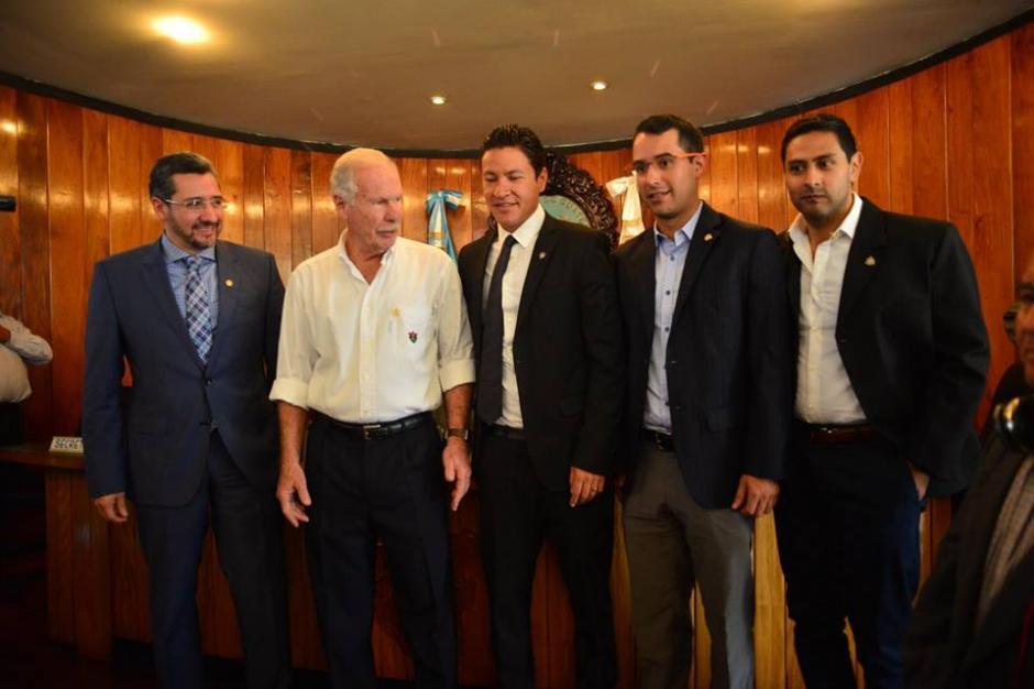 Otros miembros del Concejo Municipal para cuatro años. (Foto: Jesús Alfonso/Soy502)