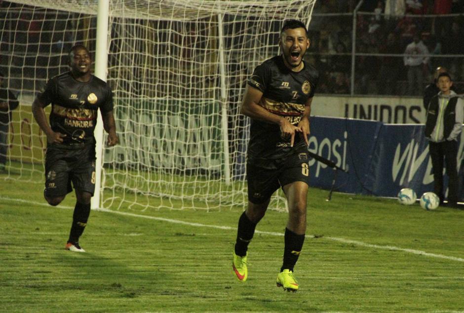 Cristian Jiménez le dio el triunfo a Municipal en el minuto 79. (Foto: página oficial de Municipal)