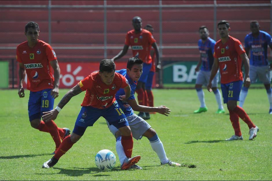 Municipal - Malacteco se juega en el trébol foto