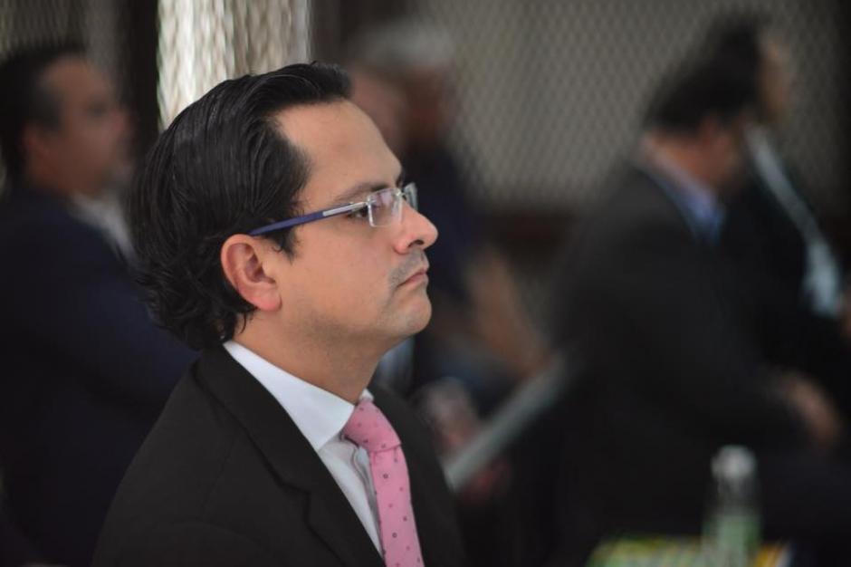 Juan Pablo Muralles es uno de los operarios de la red junto al prófugo Gustavo Alejos. (Foto: Jesús Alfonso/Soy502)
