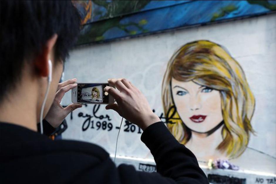 Lushsux es el creador de la pieza de arte. (Foto: mirror.co)
