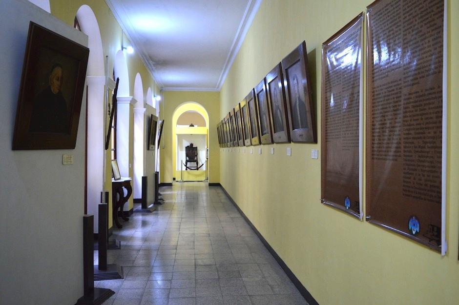 Fundación G&T y el ministerio de Cultura y Deportes inician el proyecto de restauración. (Foto: María Olga Vega/Soy502)