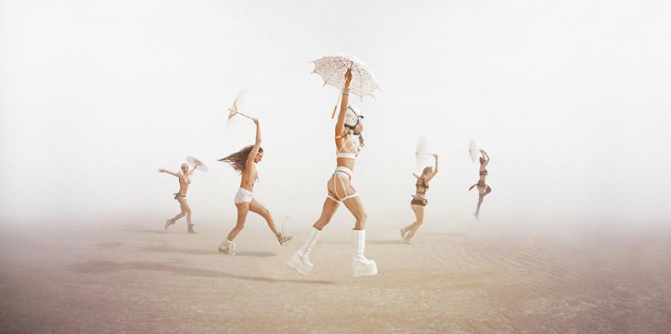 El fotógrafo Ari Fararooy viajó por segunda vez a el evento Burning Man y logró captar increíbles imágenes. (Foto: Ari Fararooy)